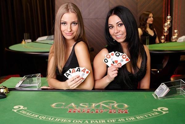 evolution gaming Live Casino Hold'em