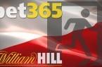 Bet365 και William Hill αποχωρούν από την Πολωνία