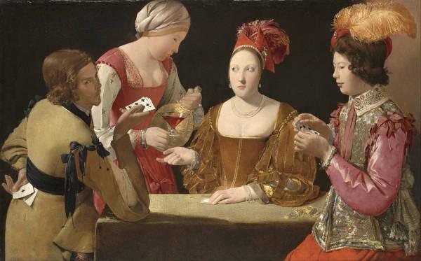 Διάσημοι πίνακες ζωγραφικής σχετικοί με τυχερά παιχνίδια
