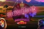 Novibet by Night* με τυχερό δωροτροχό* στο Serengeti Kings!